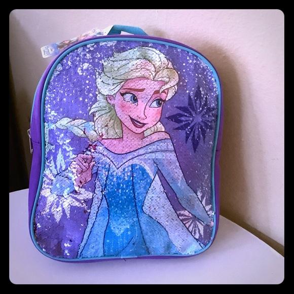💥HP💥last 1 FROZEN 2 Mini Backpack- Elsa & Ana 🎁